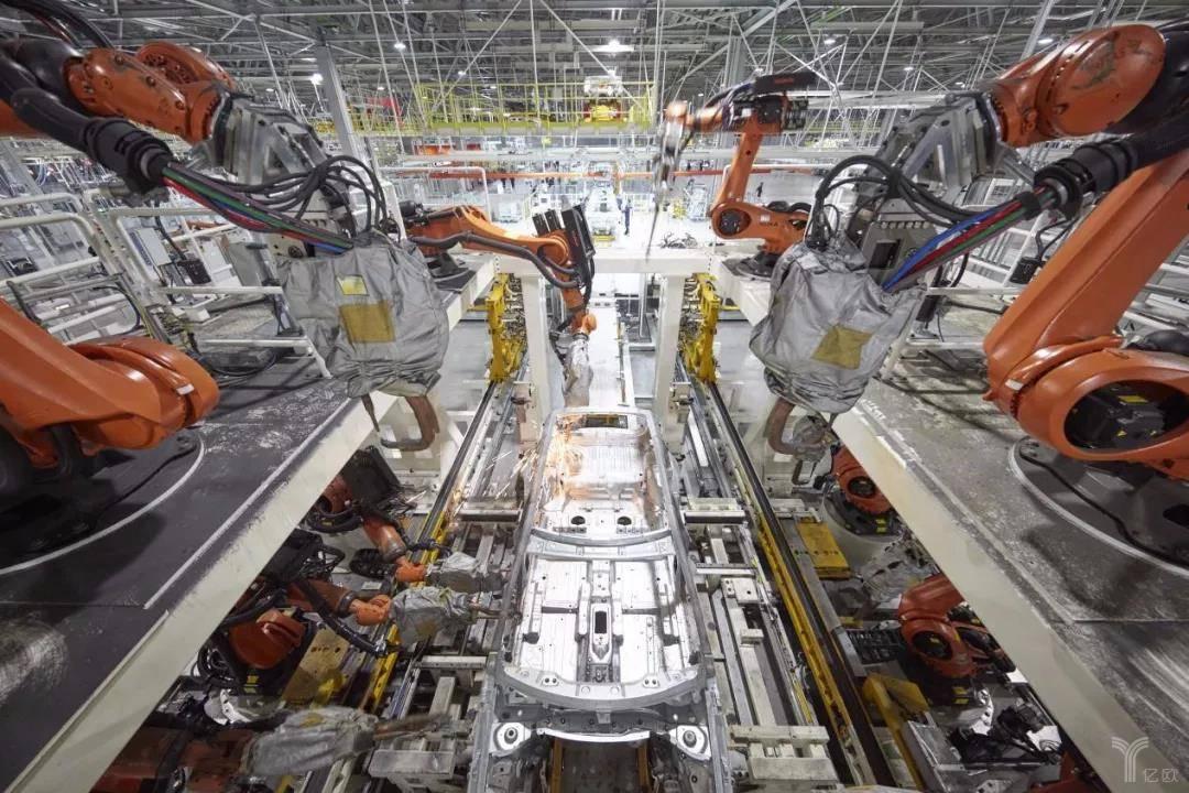 汽车生产车间