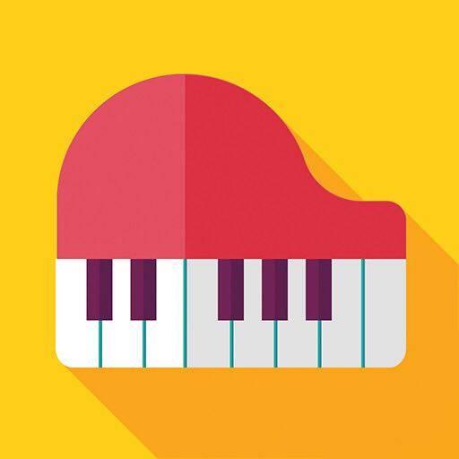 钢琴图片矢量图