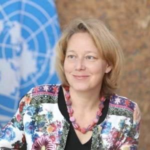 联合国开发计划署 驻华代表 Agi Veres