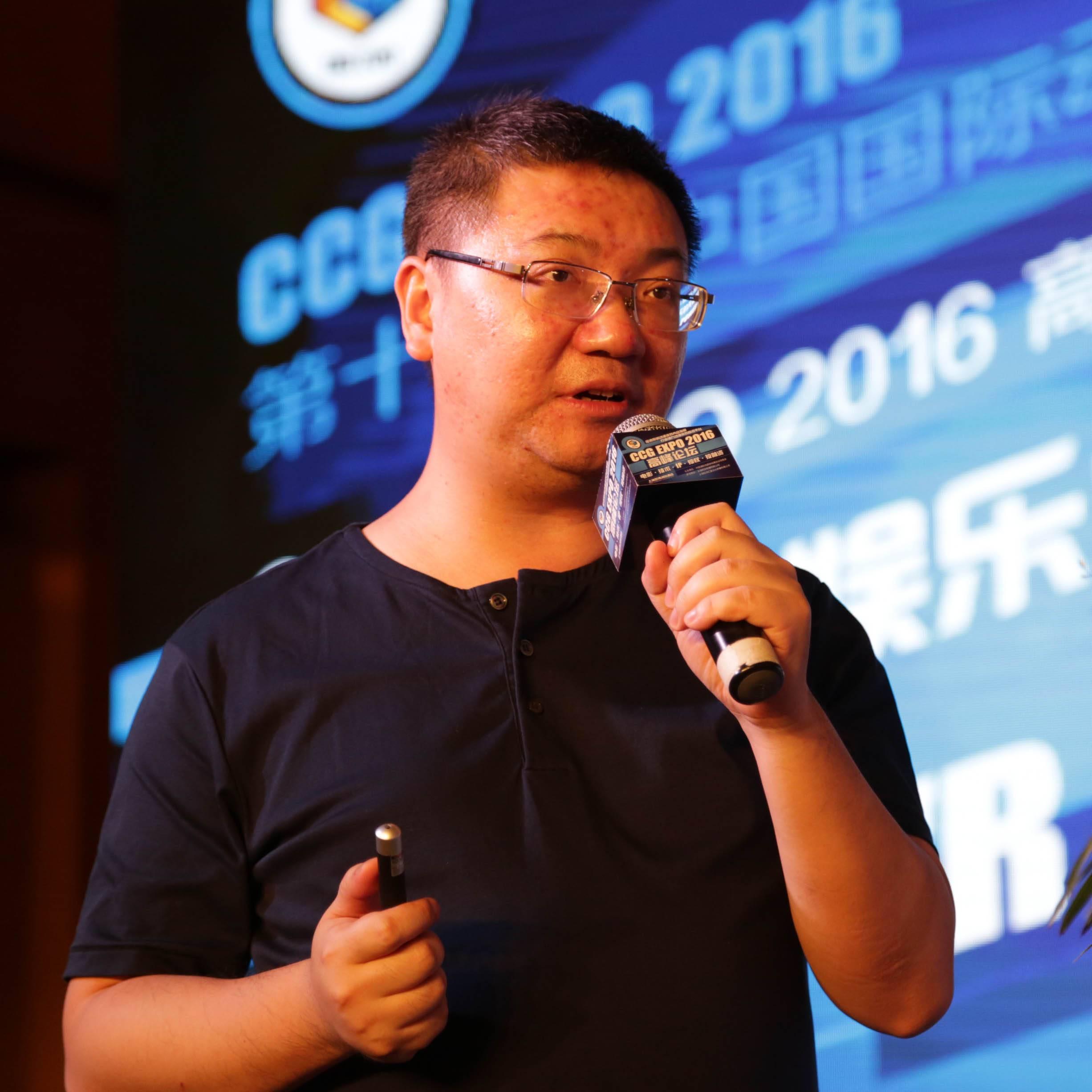 創幻科技 CEO 陳堅