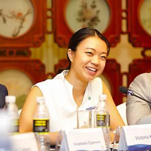 上合国家青年平台SCOLAR Network 联合创始人兼主席 胡凤兰
