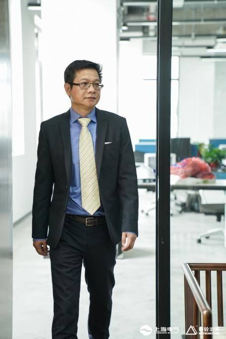 上海电气研砼建筑科技集团有限公司 总经理 林凡