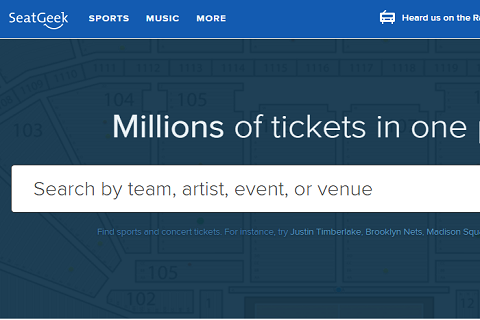 在线票务平台SeatGeek获得C轮融资6200万美元