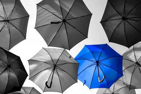 共享雨伞可以做的更精细、更性感一点