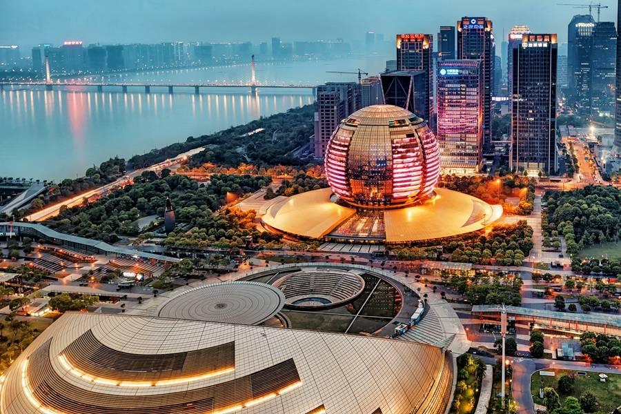 杭州,夜景