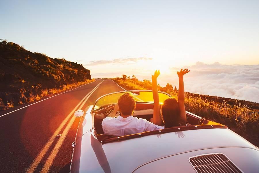 共享汽车,旅游