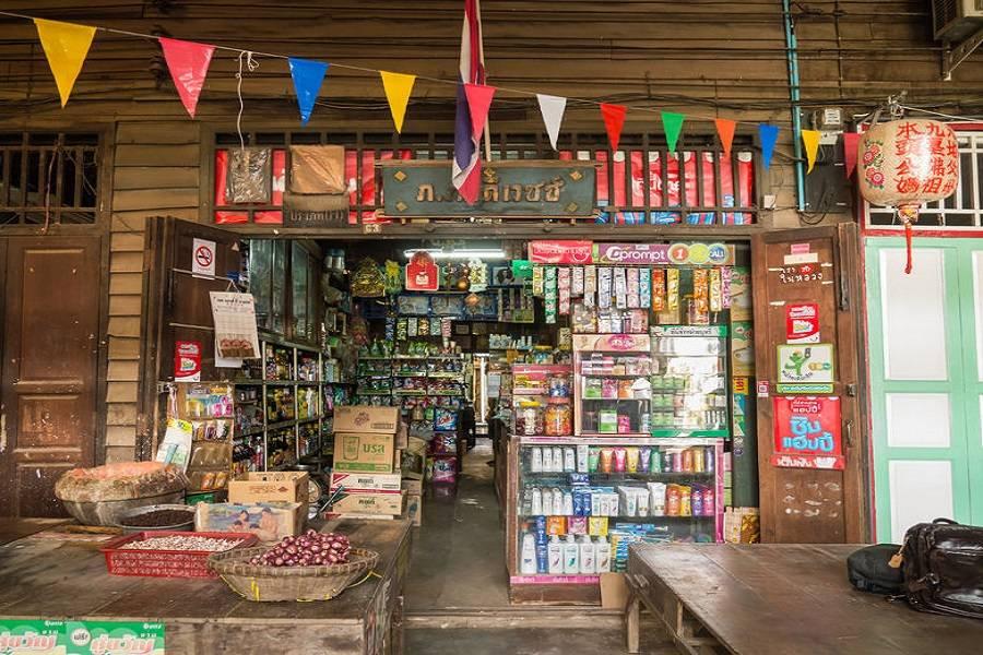 零售,商店,农村