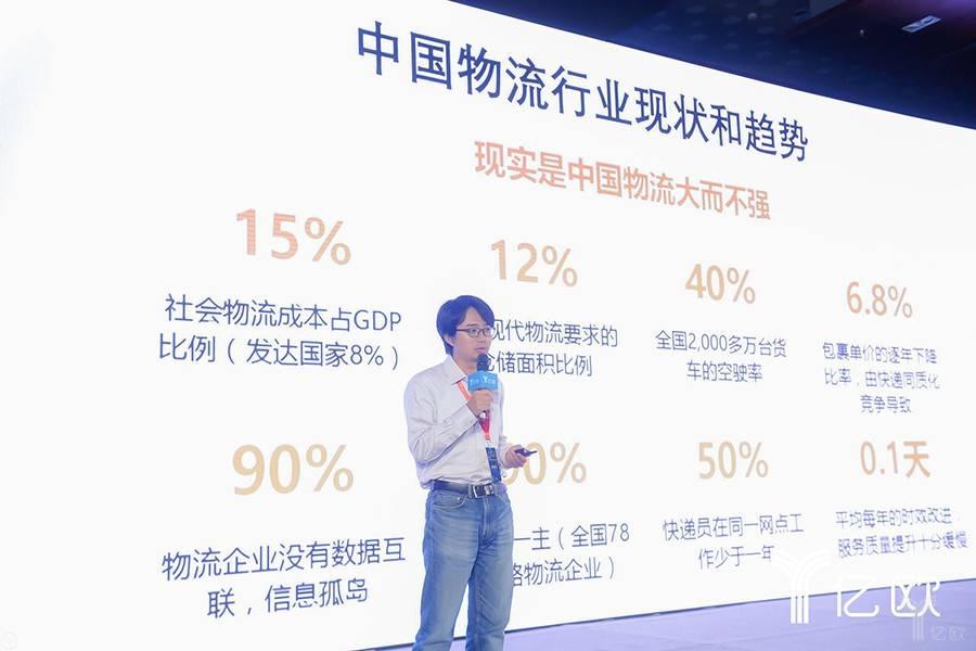 菜鳥網絡朱禮君:人工智能驅動物流變革