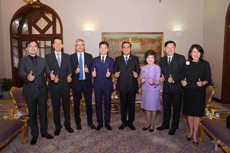 泰国总理巴育会见刘强东,京东在东南亚市场又落一子