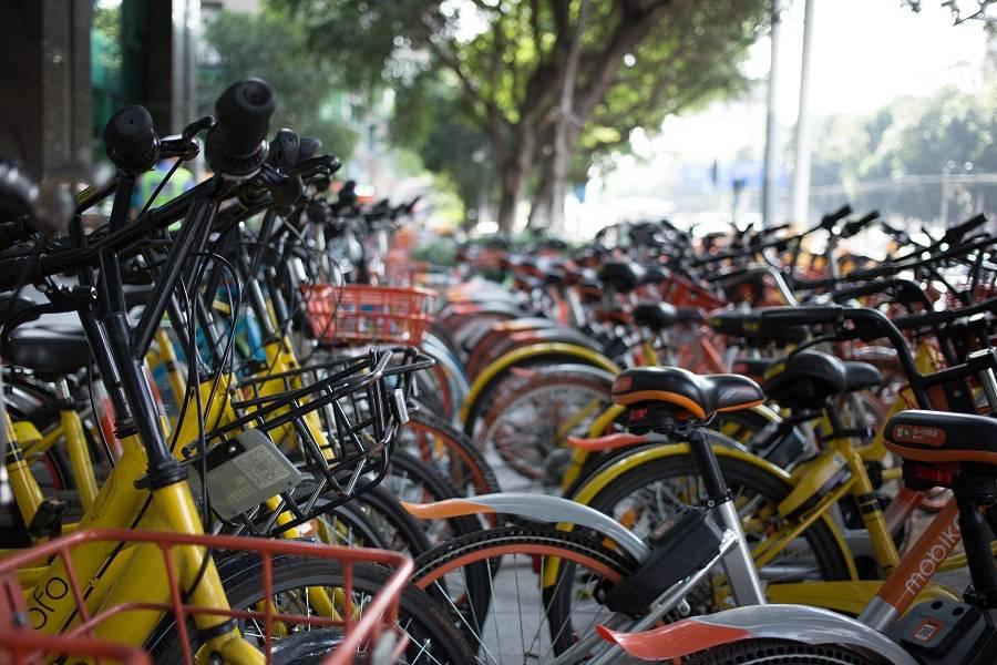 """共享单车的""""三国时代"""""""