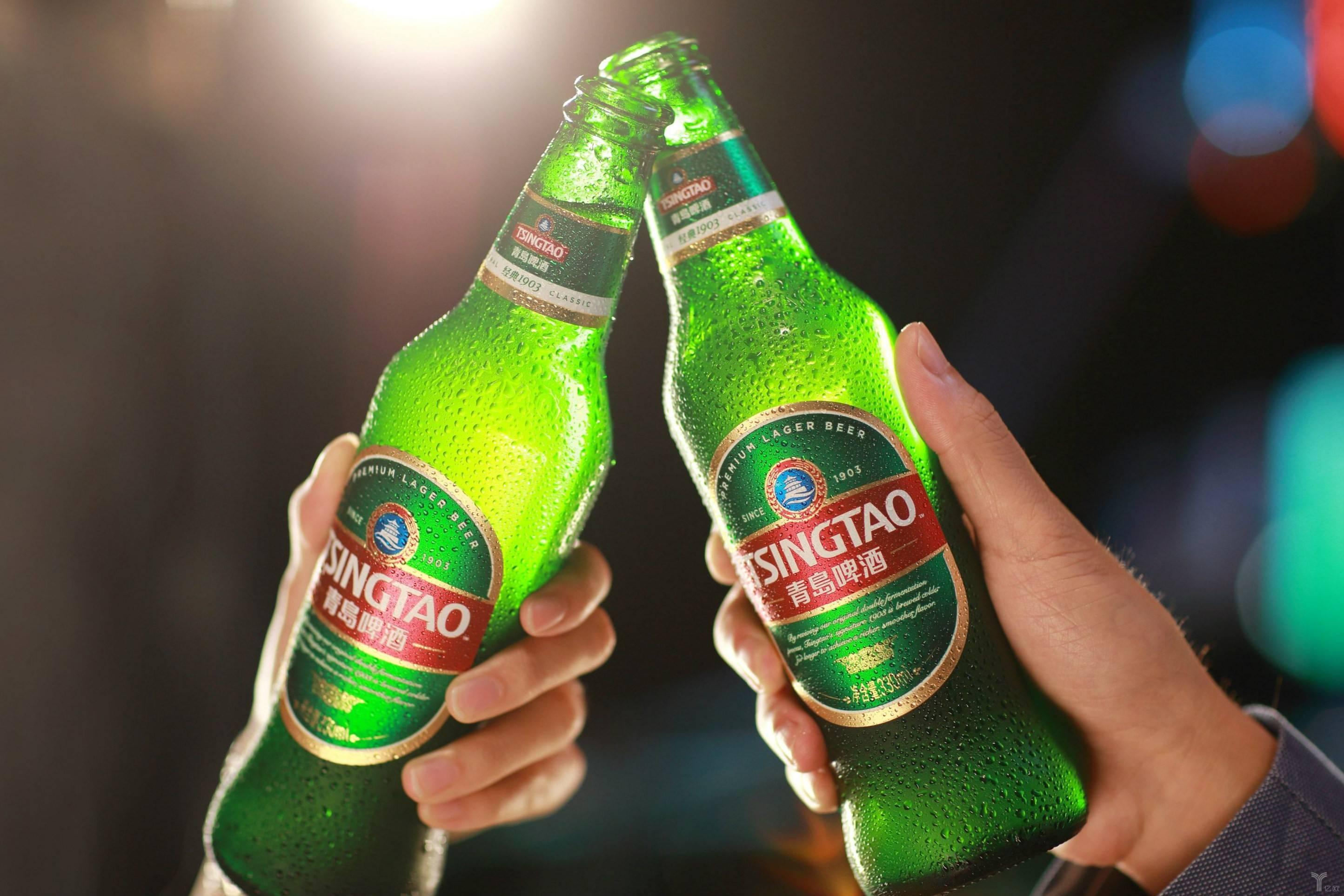 青岛啤酒,图片来自网络