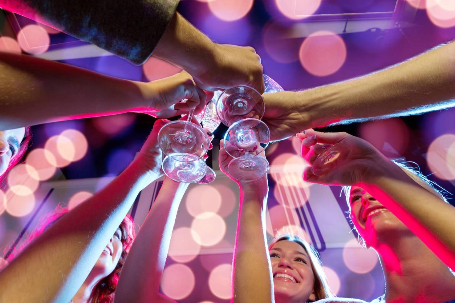 白酒,庆祝