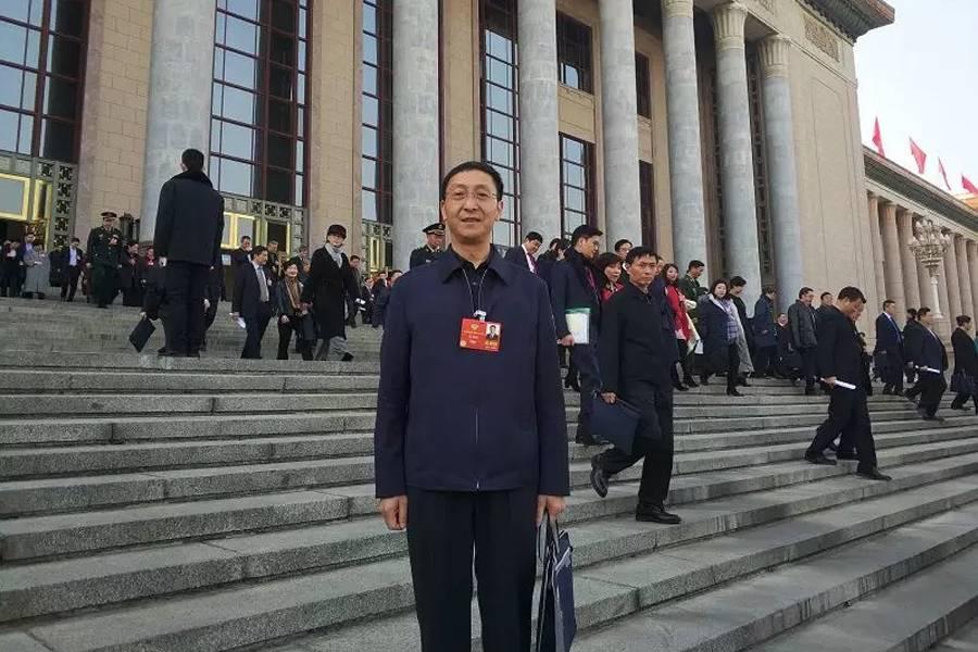 全国政协委员、国家邮政局普遍服务司司长马旭林