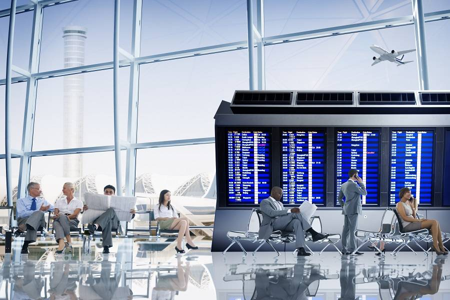 机场 候机室