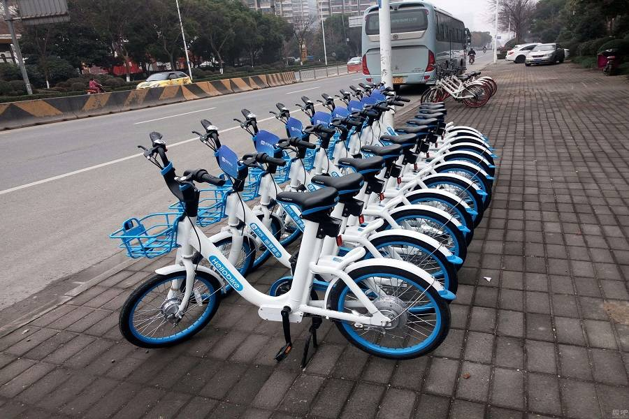 哈罗单车,共享单车,哈罗单车,ofo单车