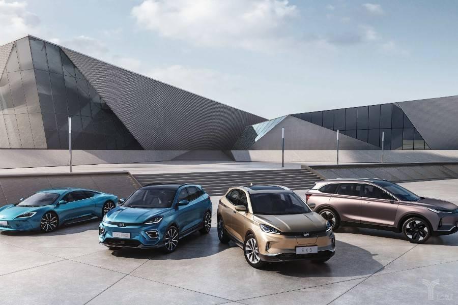 威马汽车第二款量产车型EX6 Concept亮相车展,纯电动超跑或在研发中