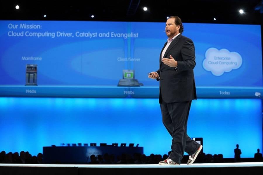Salesforce市值逼近千亿美金并盈利,SaaS 20年发展终步入盛夏光年