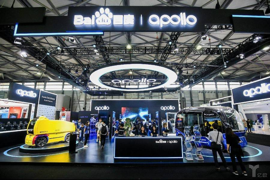 百度Apollo全系产品亮相CES Asia,宣布与现代汽车、拜腾达成合作