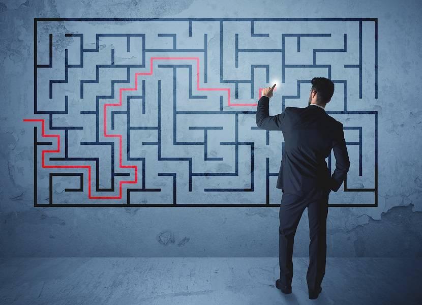 拼图,迷宫,问题,解决方法