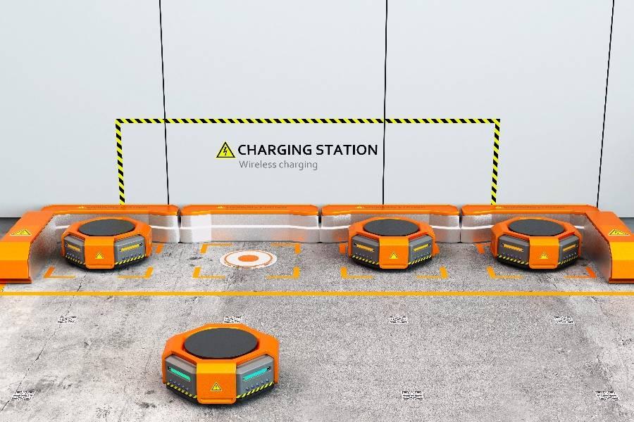 激光,磁性,視覺,帶你領略AGV最好的導航系統