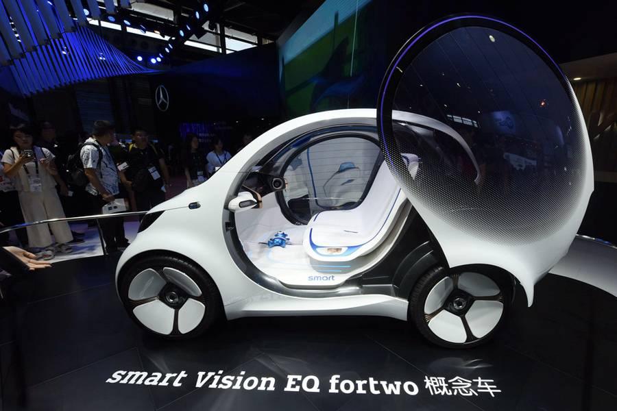 三大角度看懂全新smart:吉利戴姆勒各占50%股份,2022年在華投產