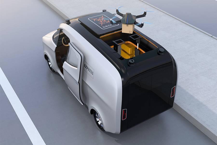 物流黑科技,2020年无人配送车或将量产