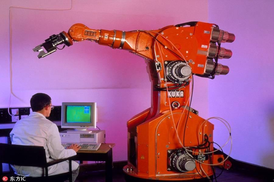 机器人,施工机器人,智能机器人,科技创新