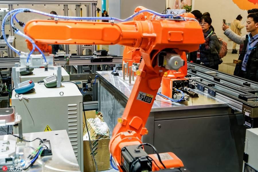 智能制造机器人,亿欧智库,智能制造,新制造,新经济年会