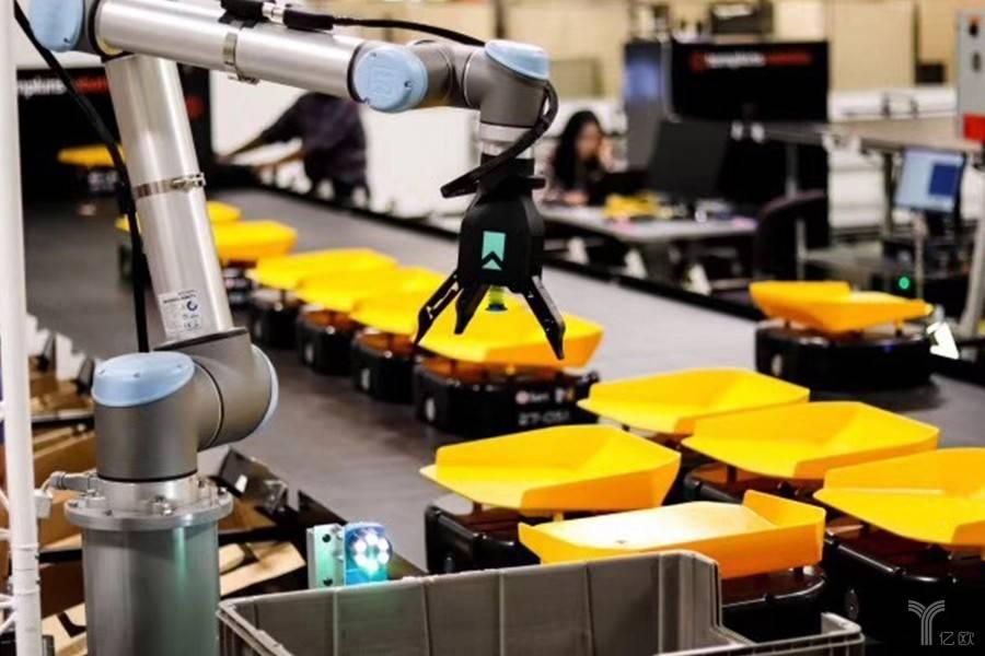 全球工业机器人盘点 | 竞争激烈的市场与超速发展的AGV