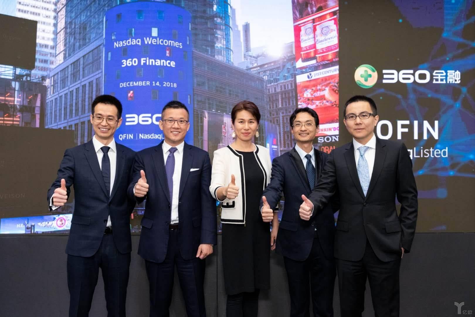 360金融发布2019Q1财报:净利润约为7.2亿元,M3+逾期率为0.94%