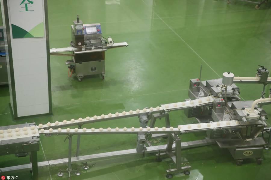 食品加工,自动化产线