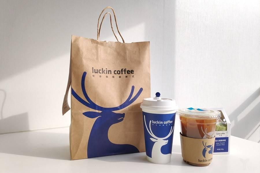 瑞幸咖啡,瑞幸咖啡,咖啡,小鹿茶