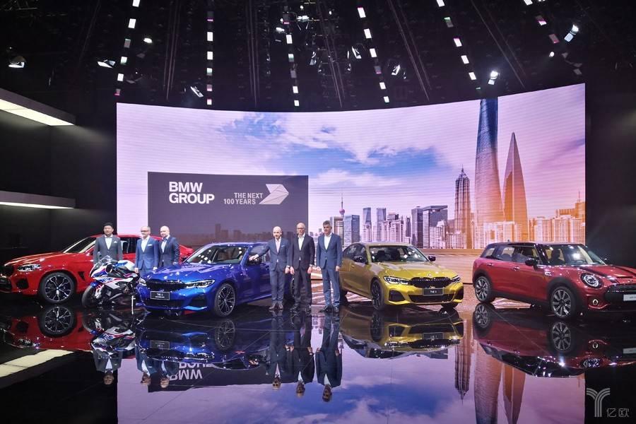 全新一代BMW3系领衔,宝马集团携六款首发车型亮相上海车展