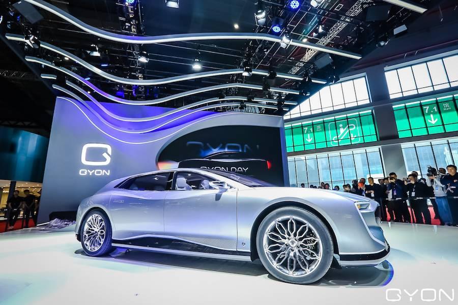 高端电动汽车品牌GYON携新车Matchless亮相上海车展