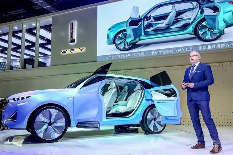 WEY发布首款纯电动概念车WEY-X,搭载L5自动驾驶