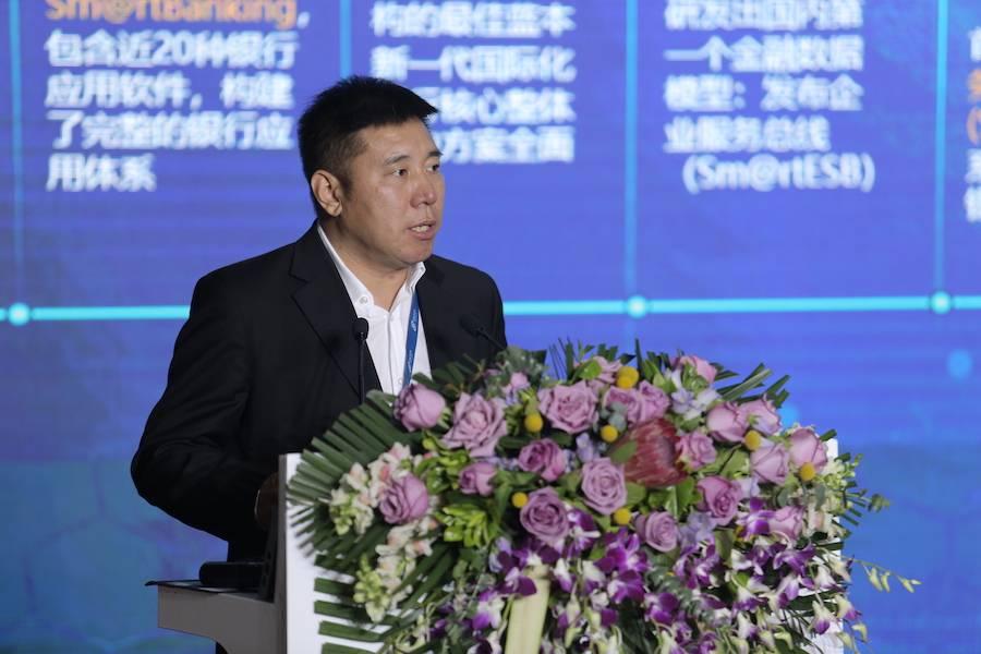 神州信息金融行业副总裁、工程院院长赵文甫