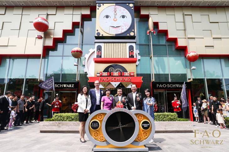 亚洲首家FAO Schwarz玩具旗舰店开业,体验式零售成为主打关键词