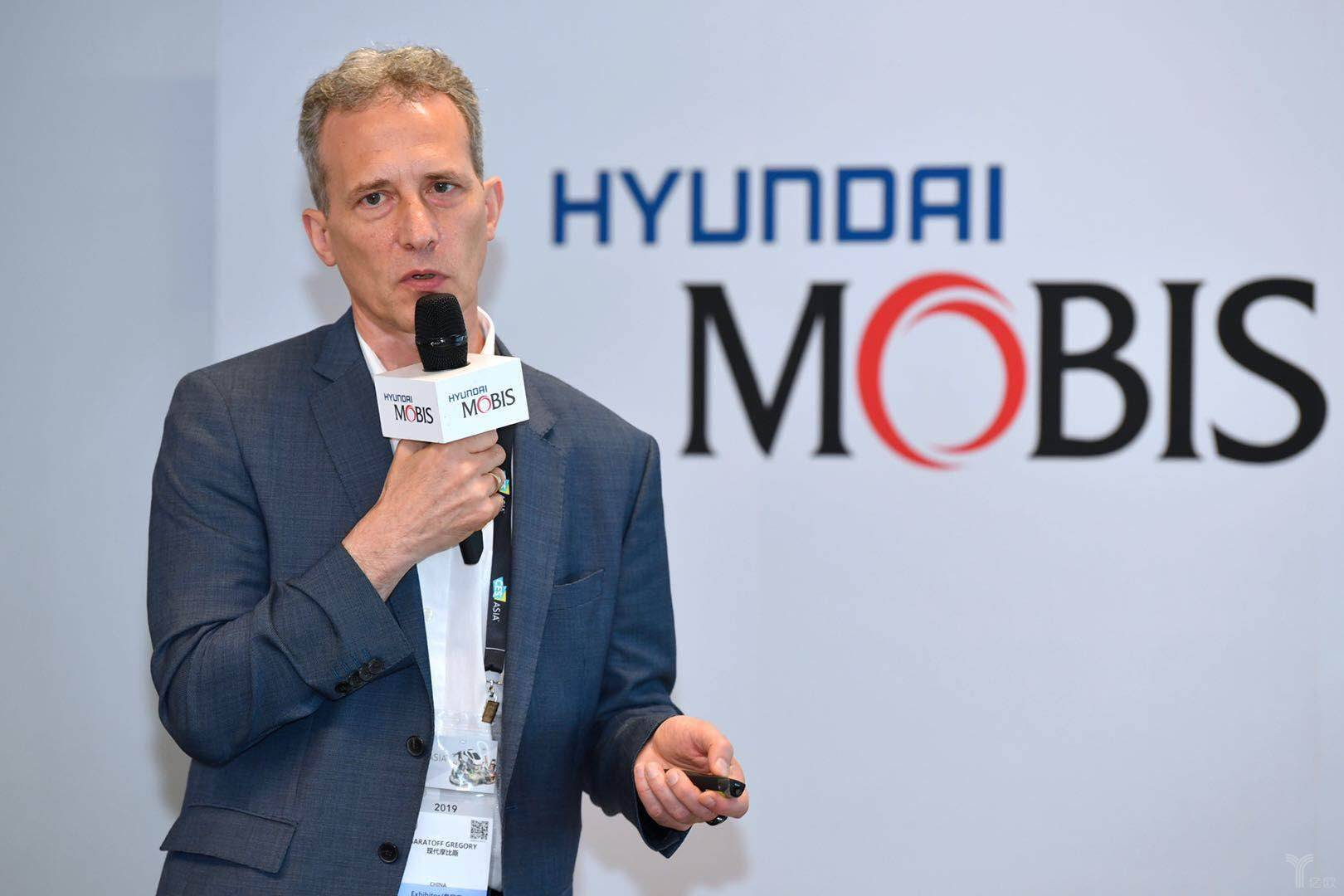 现代摩比斯发布面部识别车门开关系统,加速中国市场布局丨2019 CESA