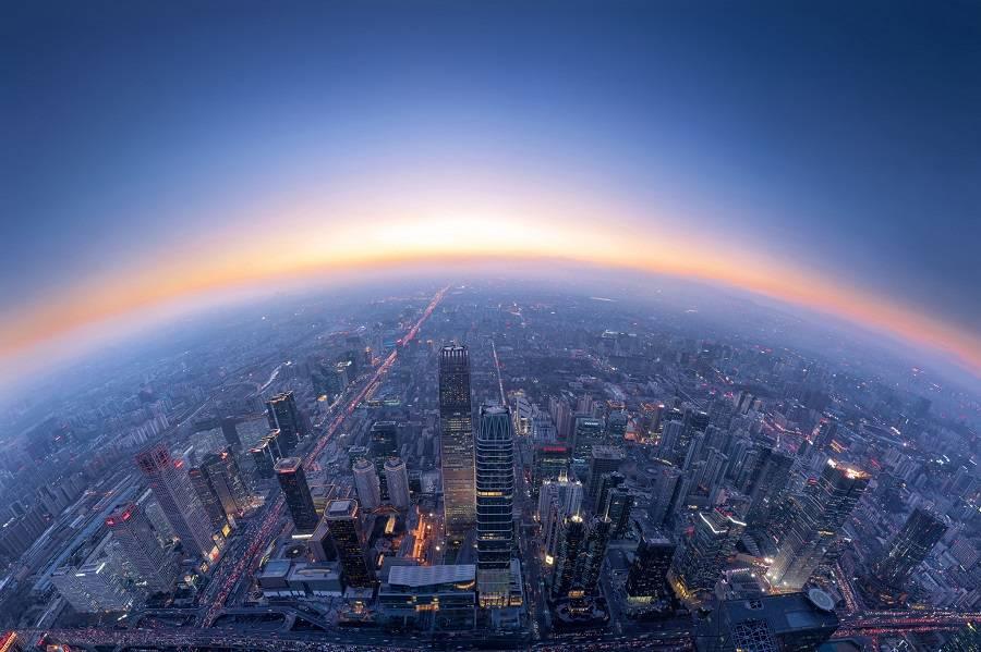 地球 城市