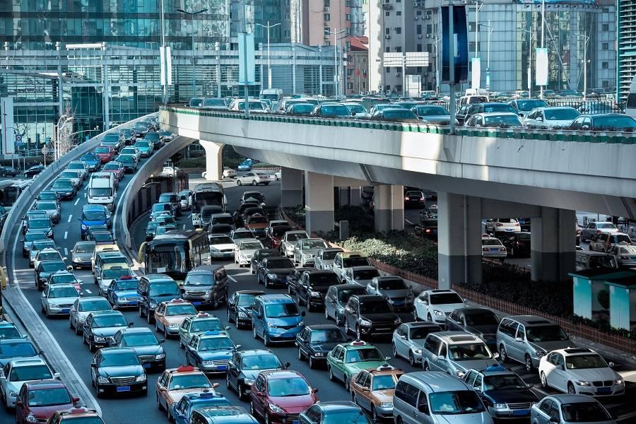 交通  堵车