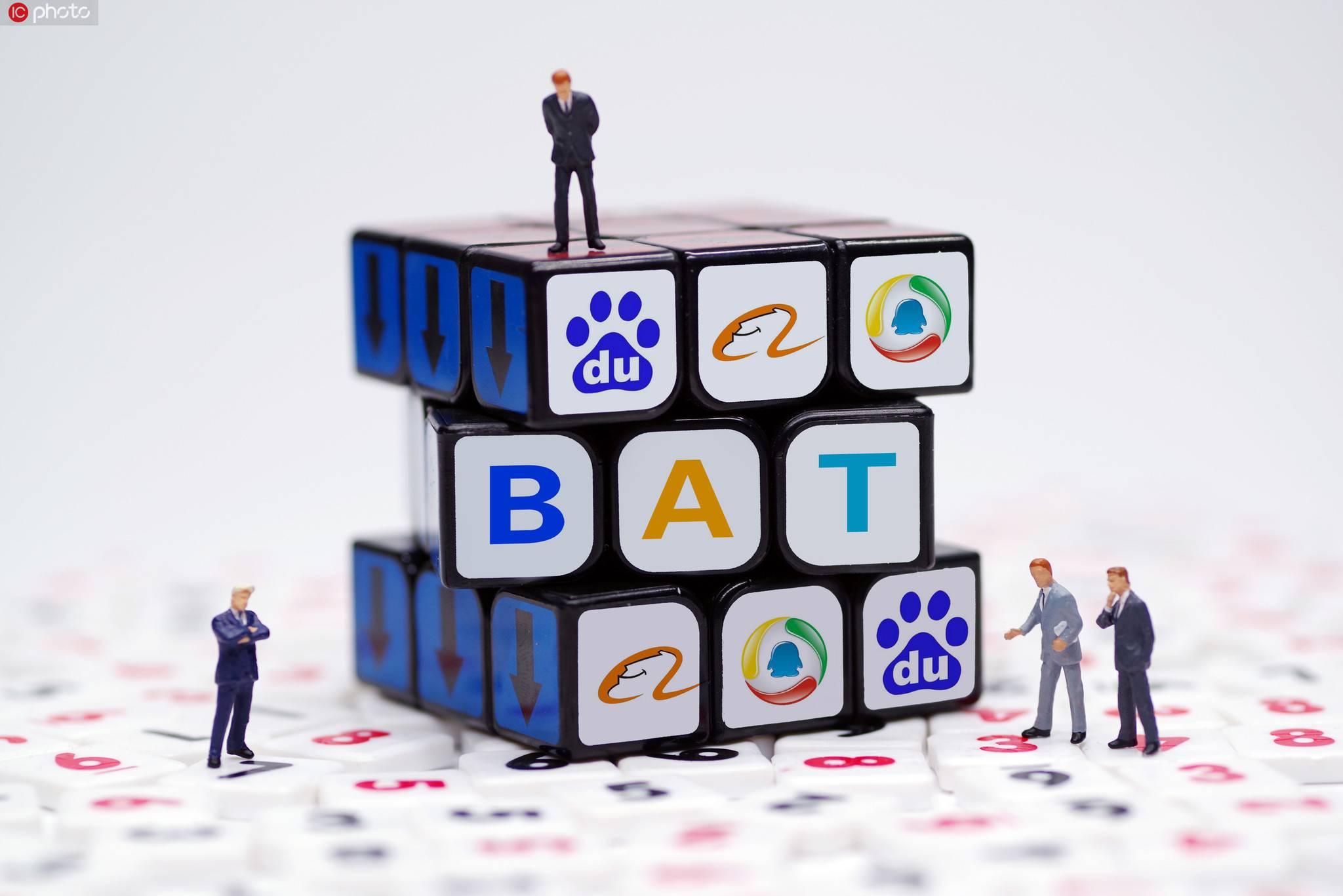 BAT,BAT,阿里,腾讯,阿里云,2019年财报,百度2019年上半年财报