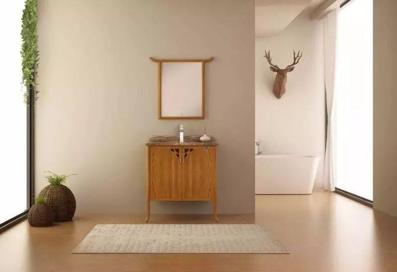 四维新中式浴室柜