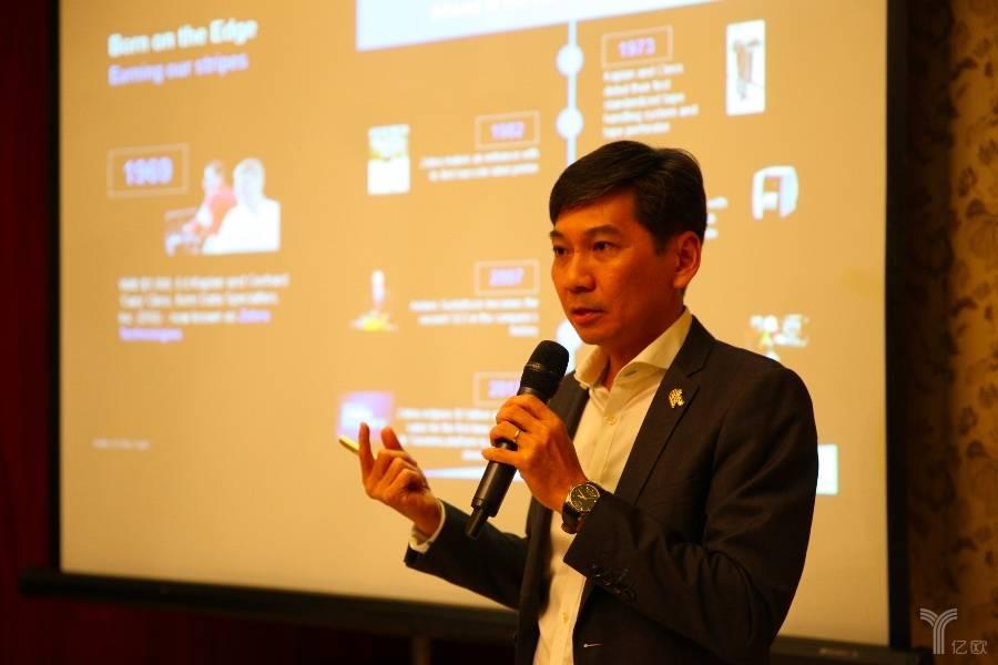 斑马技术亚太区副总裁兼总经理Ryan Goh