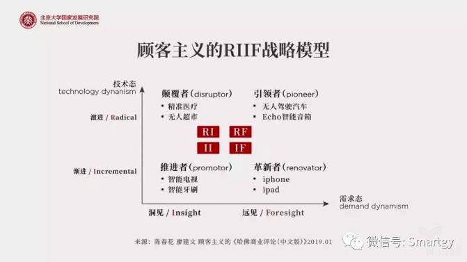 顾客主题的RIIF战略模型