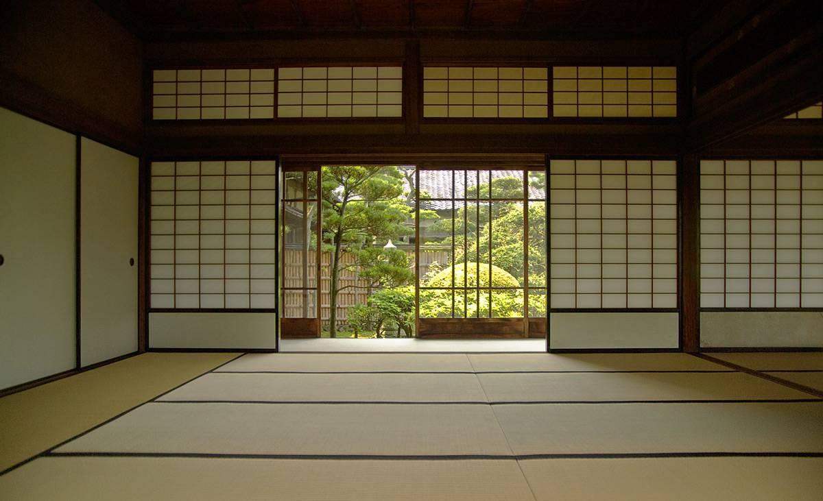 日本传统建筑,推拉门和障子的结合