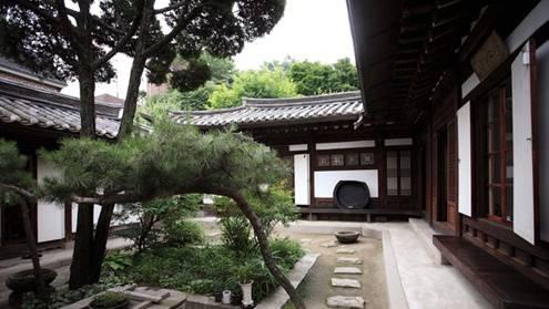 朝鲜半岛传统庭院