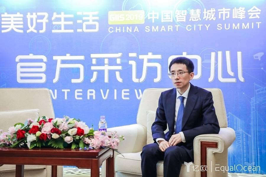 吳東升在中國智慧城市峰會上接受媒體采訪.jpg