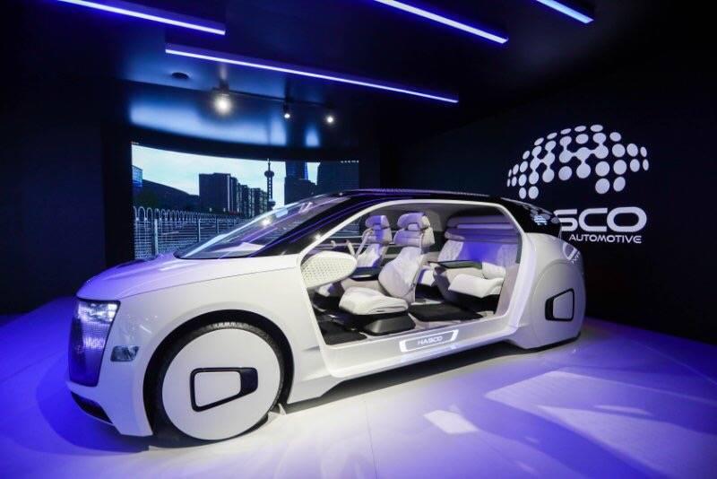 智能驾驶体验舱