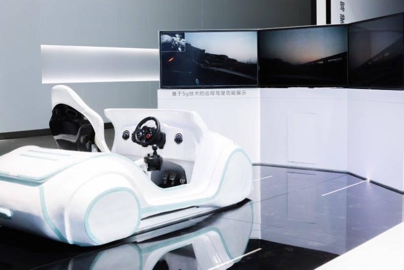 基于5G技术的远程驾驶功能展示