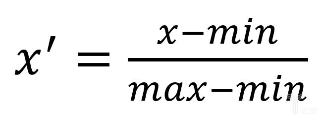 亿欧智库:Min-max标准化公式